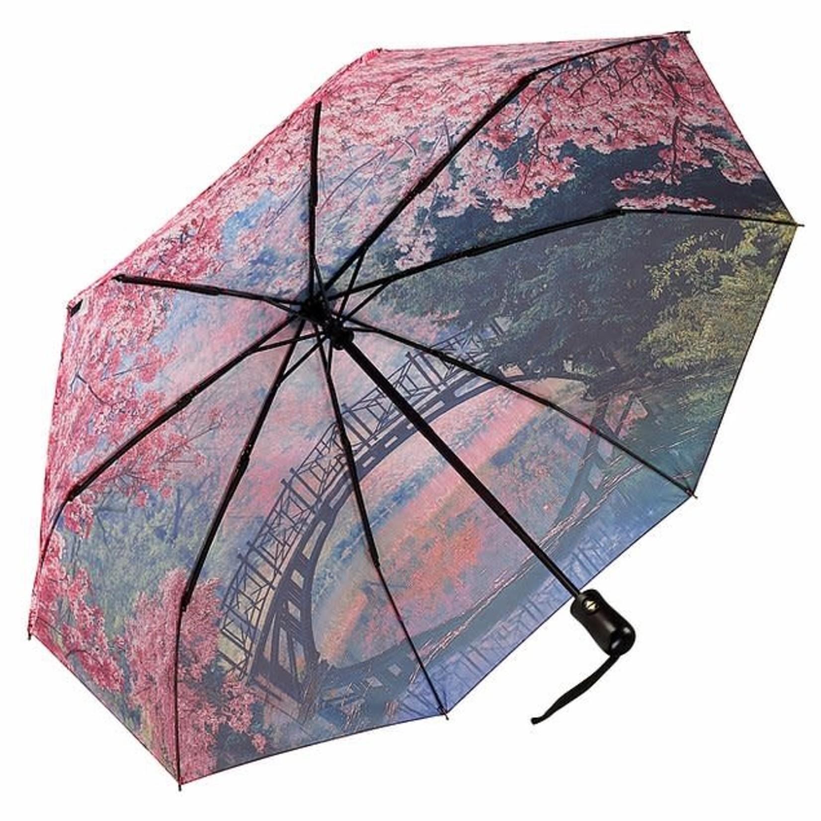 Cherry Blossoms Folding Umbrella