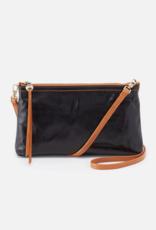 HOBO Darcy Black Vintage Hide Leather Wristlet/Crossbody