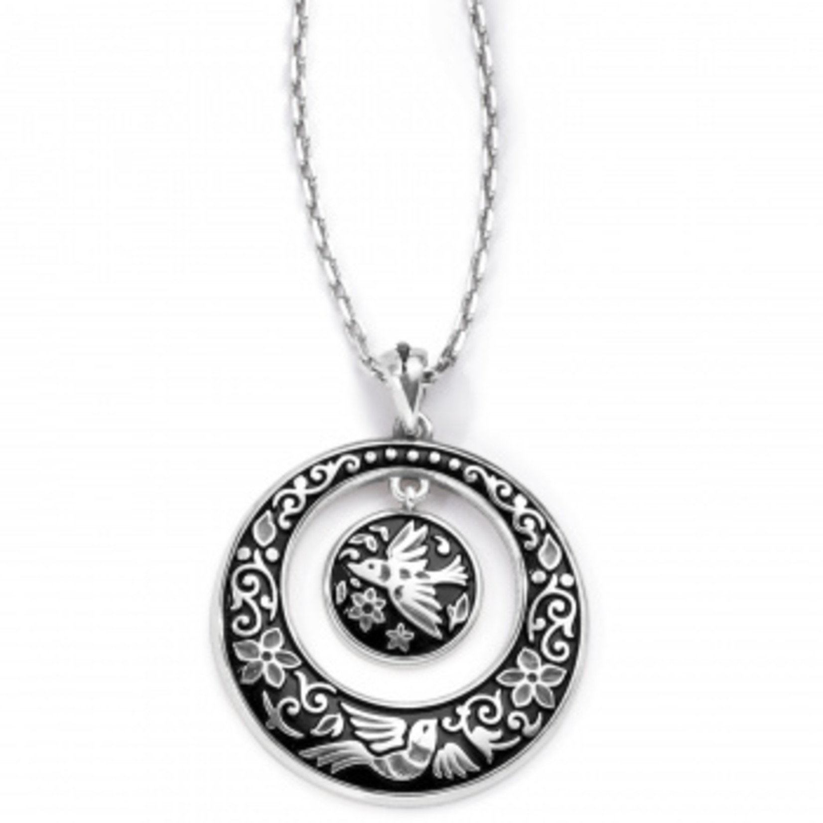 Brighton Moonlight Garden Pendant Necklace Silver OS
