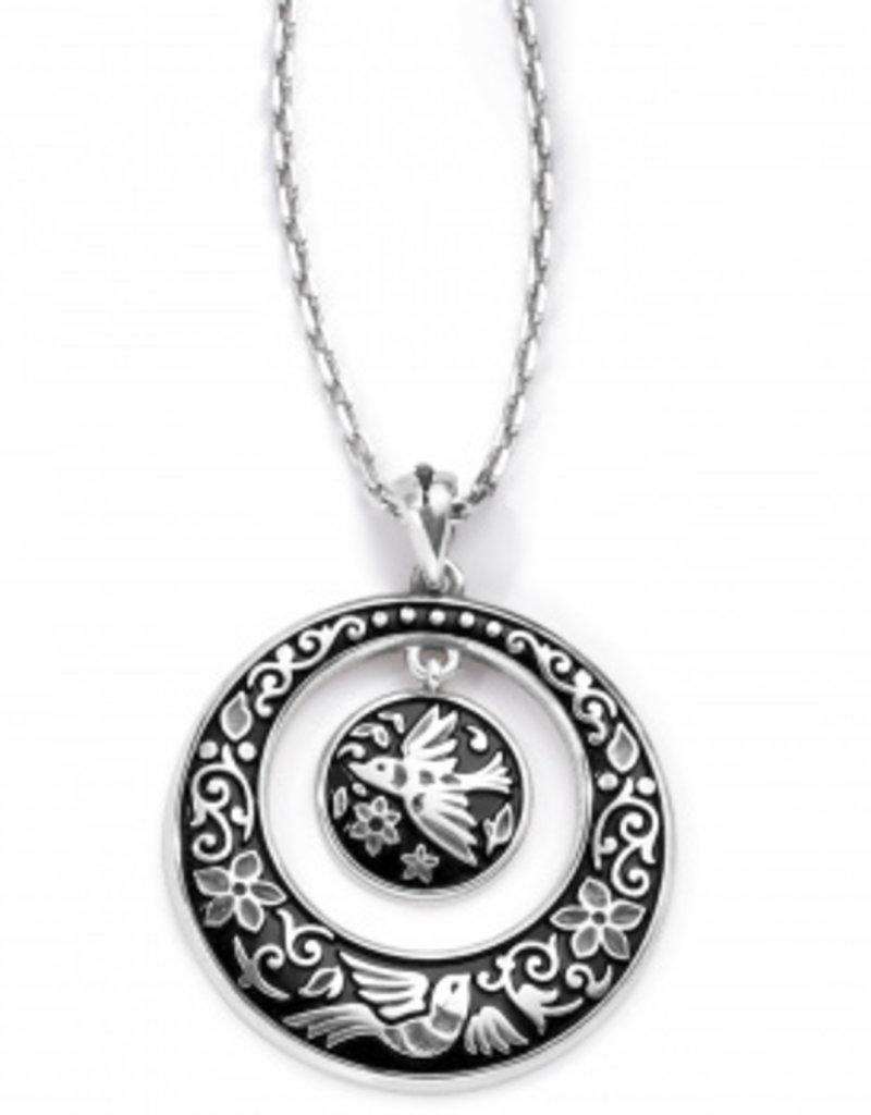 Brighton Moonlight Garden Pendant Necklace Silver OS