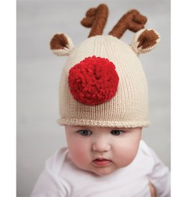 Reindeer Knit Hat for Boy