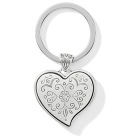 Brighton Ornate Heart Key Fob