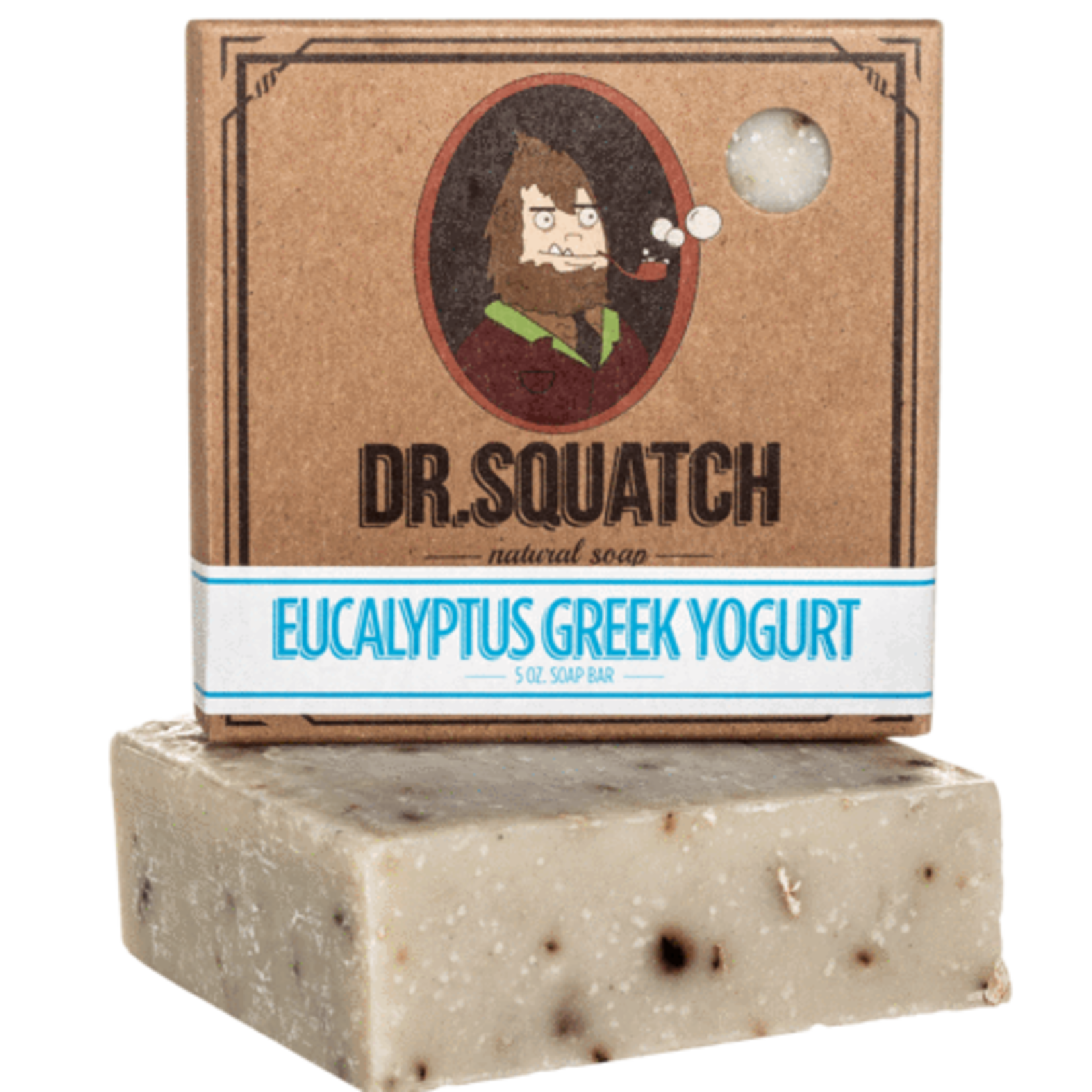Dr Squatch Bar Soap 5 oz - Eucalyptus Greek Yogurt