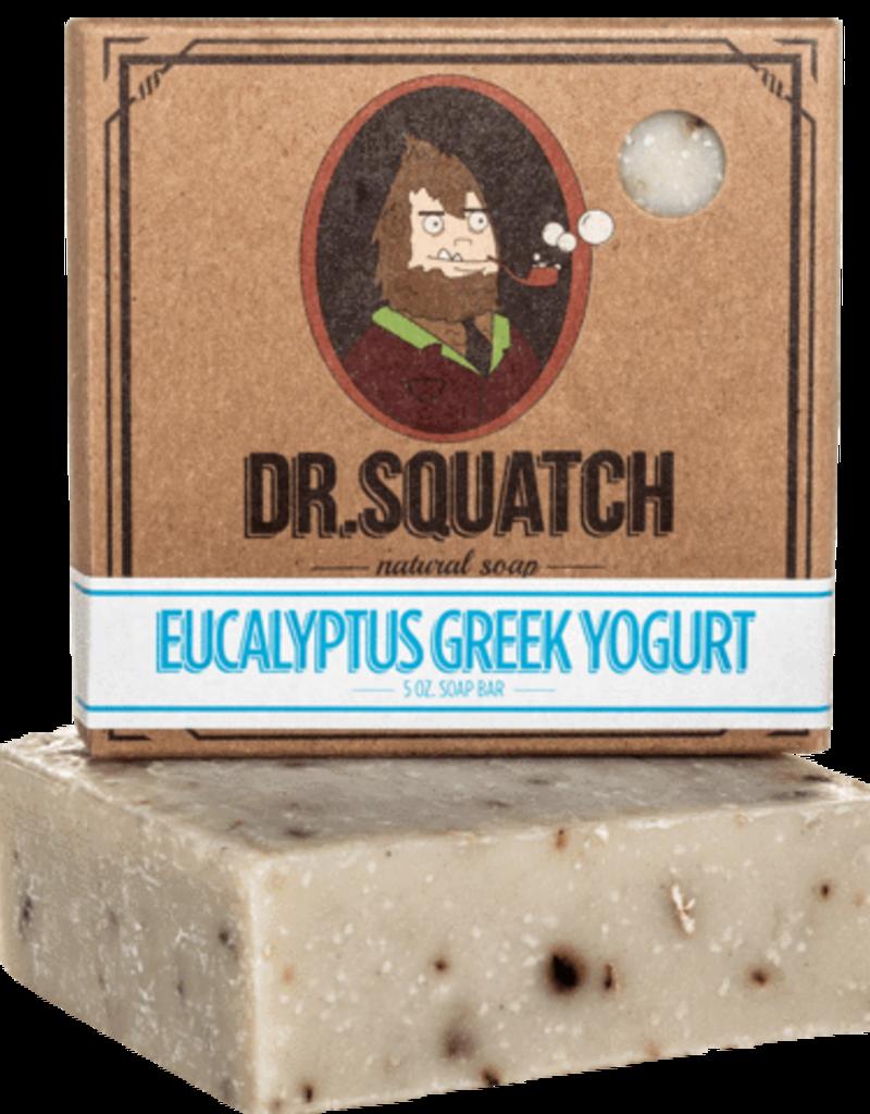 Dr Squatch Bar Soap 5 oz - Eucalyptus Greek Yogurt