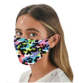 Snoozies Brightly Colored Camo Face Mask