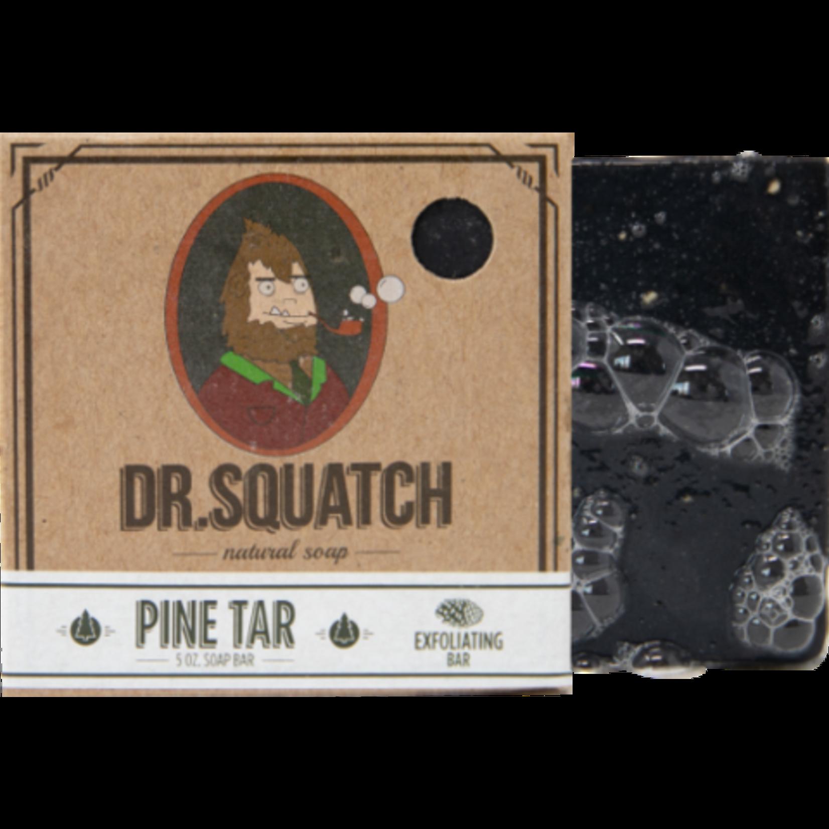 Dr Squatch Bar Soap 5 oz - Pine Tar