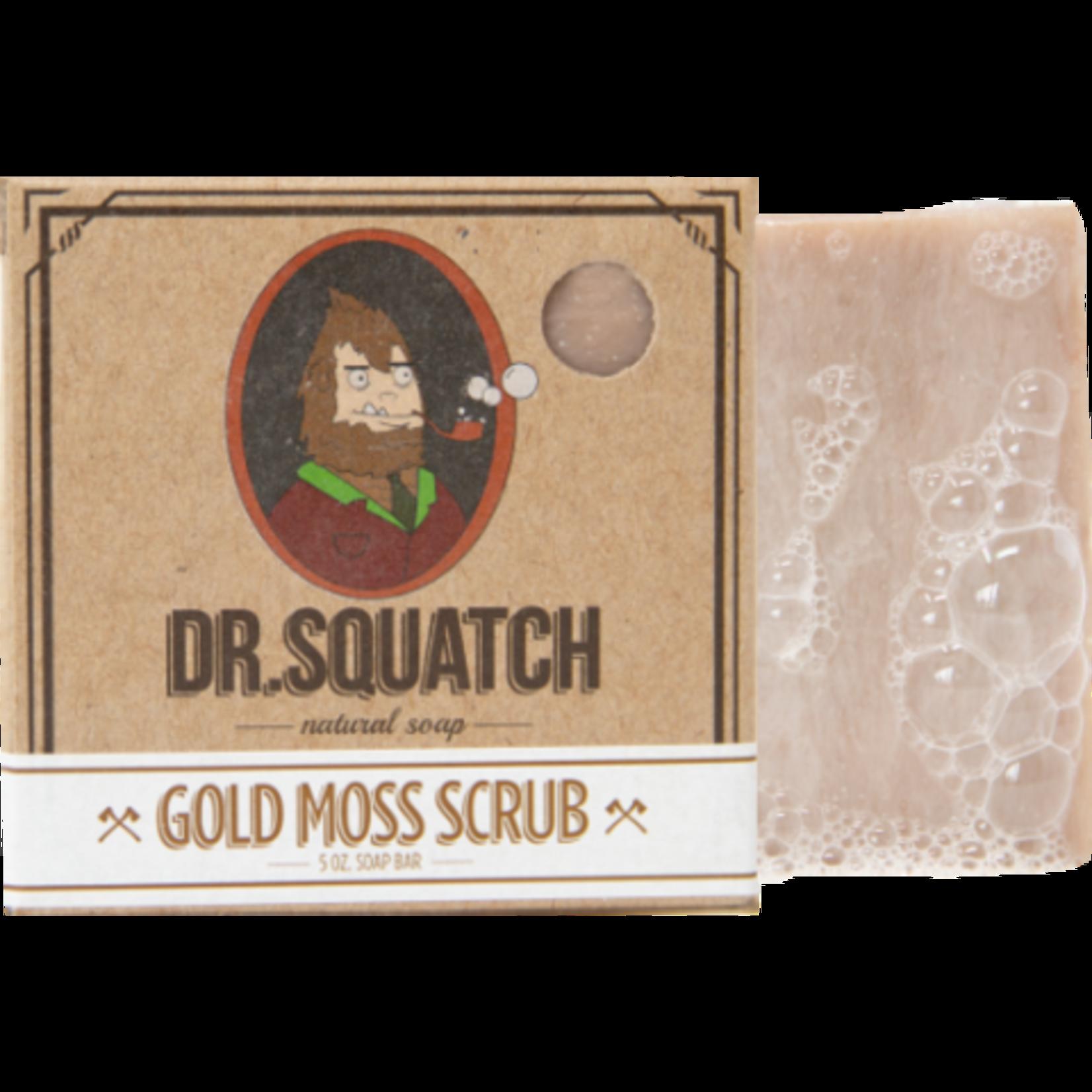 Dr Squatch Bar Soap 5 oz - Gold Moss Scrub