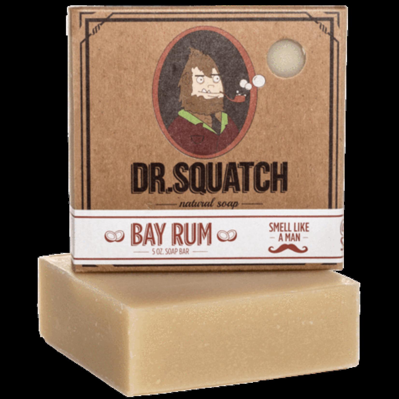 Dr Squatch Bar Soap 5 oz - Bay Rum