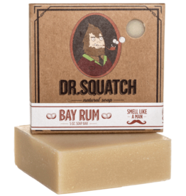 Dr Squatch Bar Soap 5 oz - Bay Rum