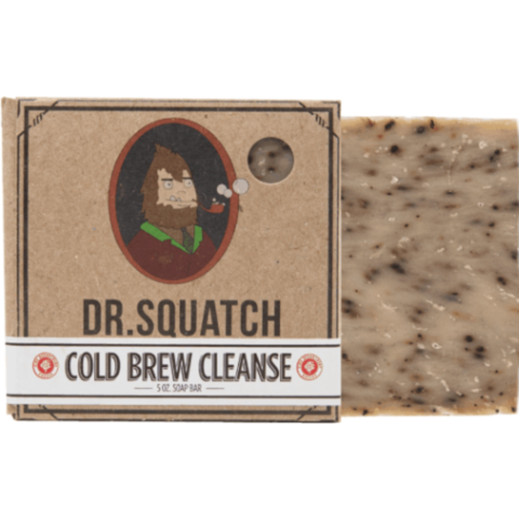 Dr Squatch Bar Soap 5 oz - Cold Brew Cleanse