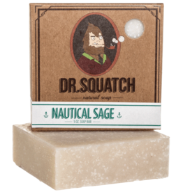 Dr Squatch Bar Soap 5 oz - Nautical Sage
