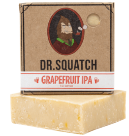 Dr Squatch Bar Soap 5 oz - Grapefruit IPA