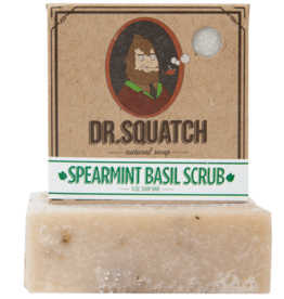 Dr Squatch Bar Soap 5 oz - Spearmint Basil