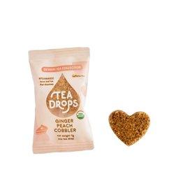 Tea Drops Single Serve Tea Drops - Ginger Peach Cobbler