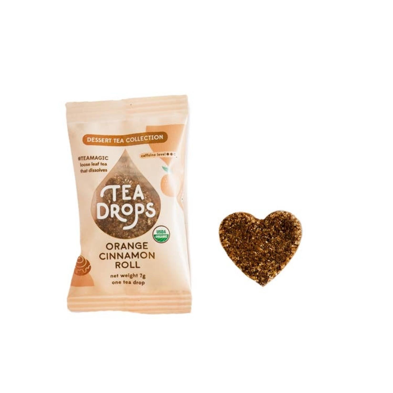 Tea Drops Orange Cinnamon Roll Single Serving