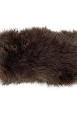 Angora Stretch Headband - Mahogany