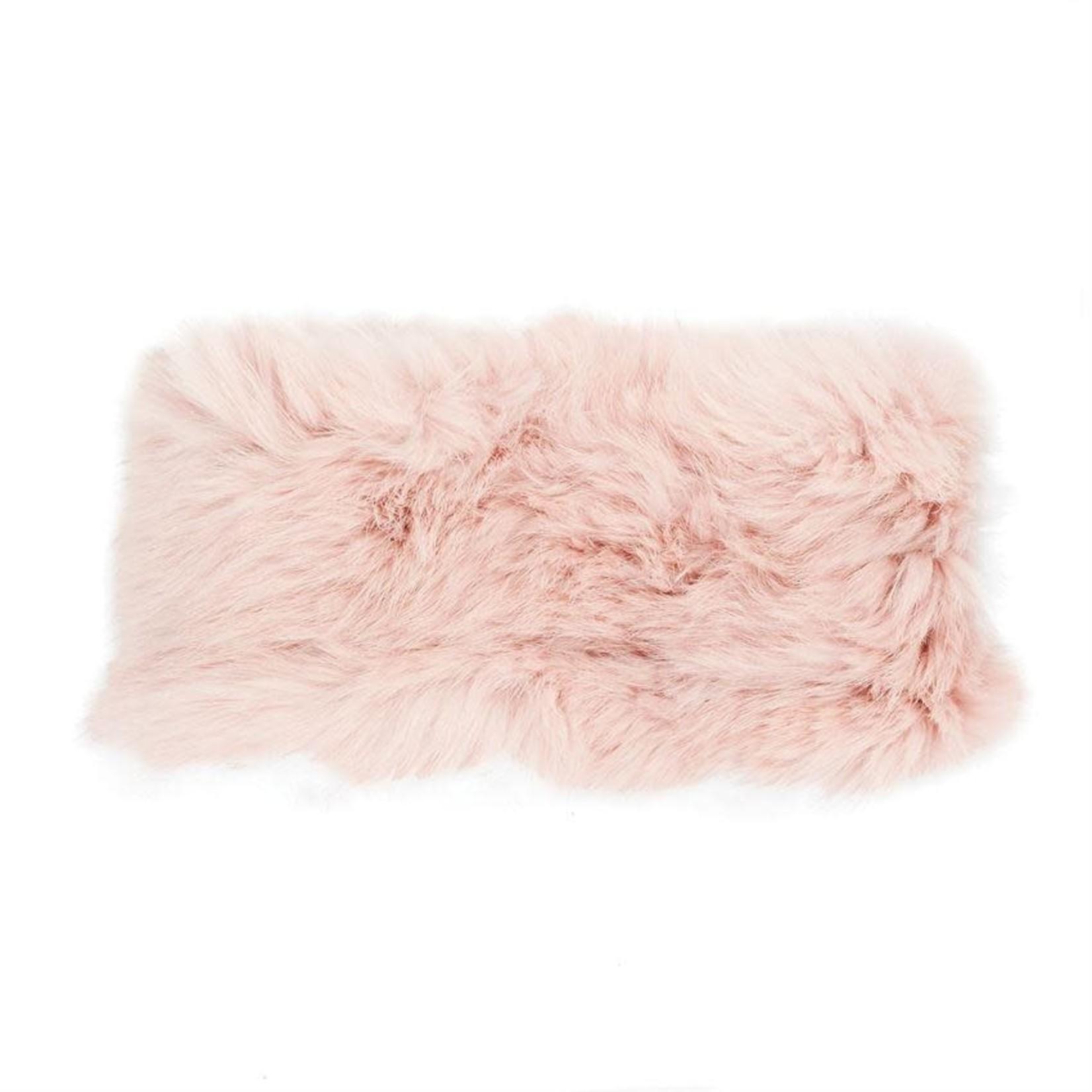 Angora Stretch Headband - Blush Pink