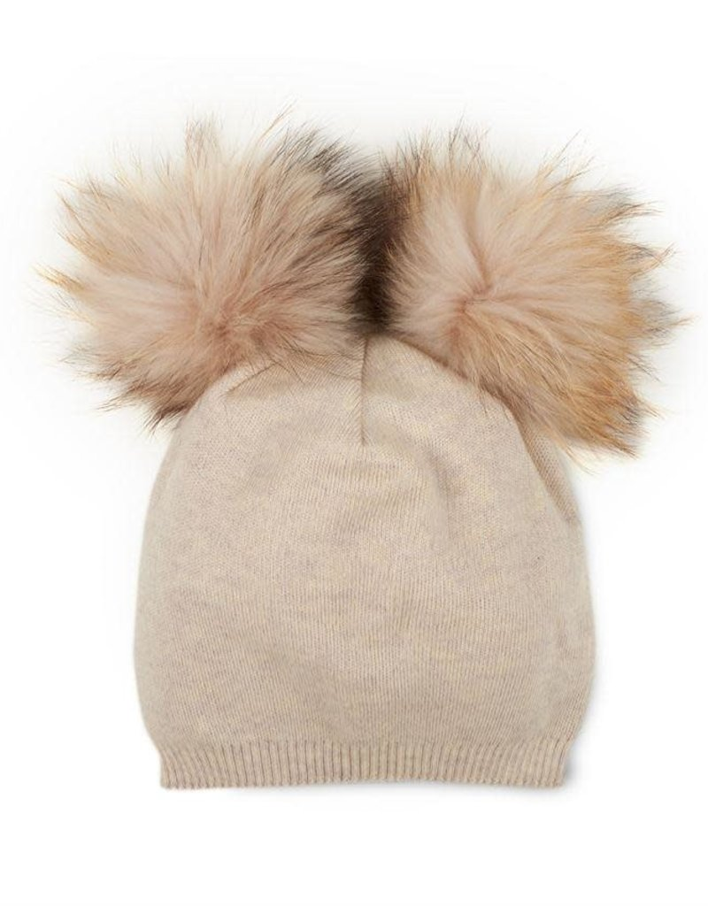 ChiChi Pom Hat in Oatmeal