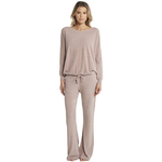 Cozy Chic Ultra Lite Slouchy Pullover - Beach Rock