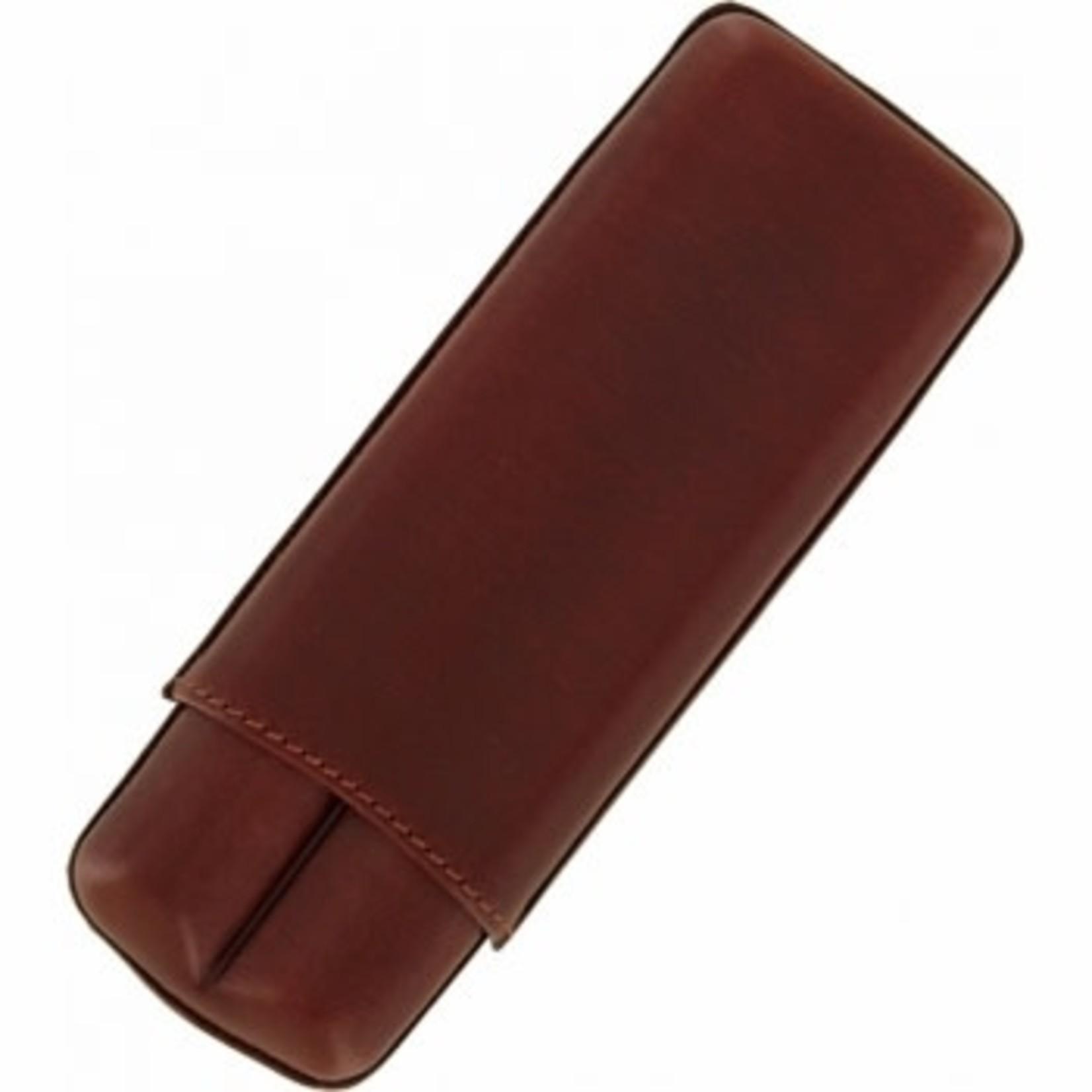 Brighton Cohiba Cigar Case in Brown