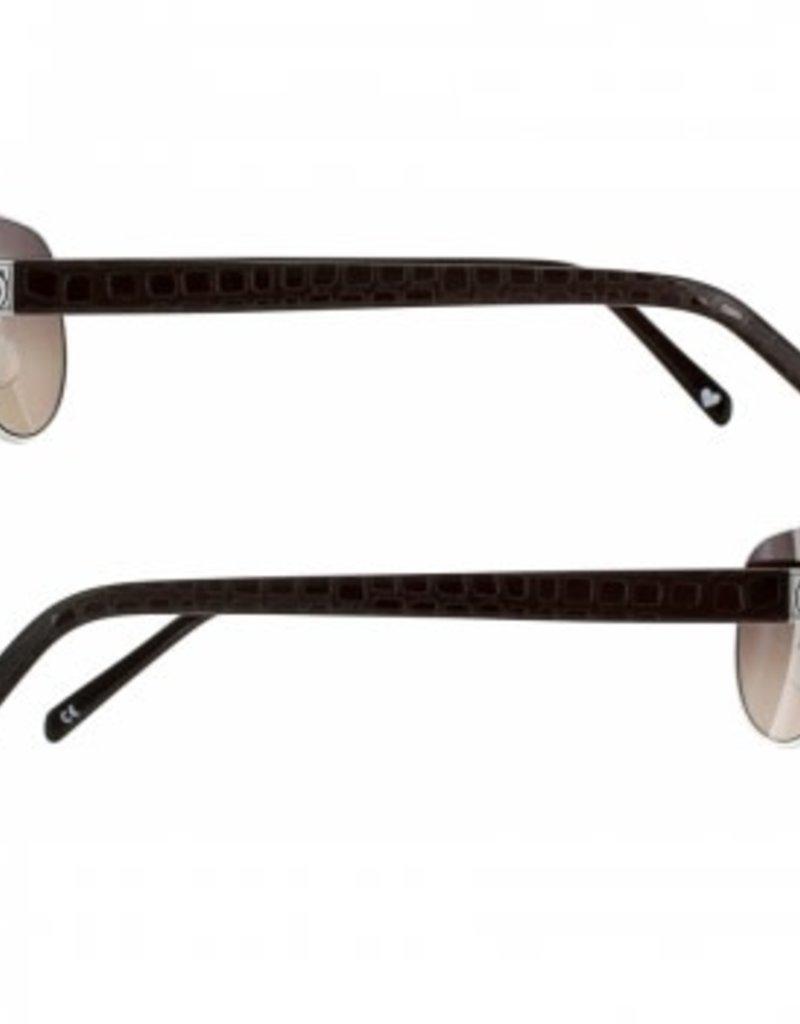 Brighton Sugar Shack Sunglasses in Chocolate
