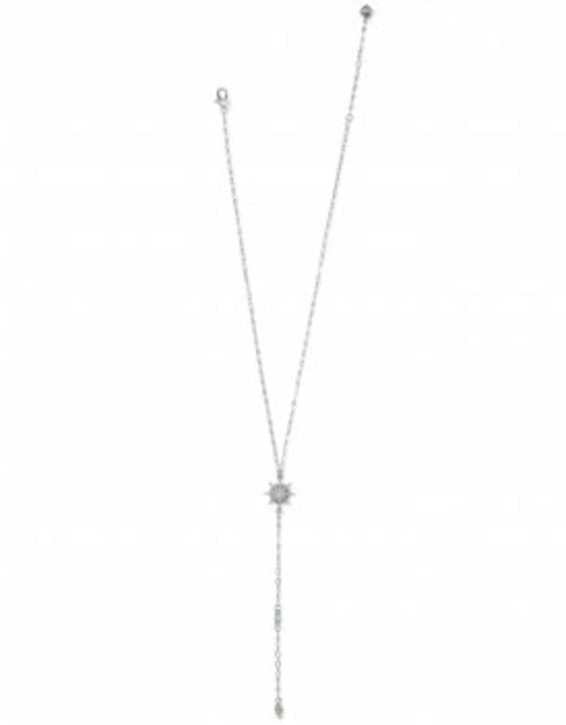 Brighton Radiant Star Y Necklace Silver OS
