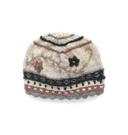 Rising Tide Rosemary - 100% Wool Knit Hat Cotton