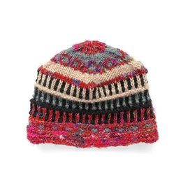 Rising Tide Himalayan 60%Wool 40%Silk Multi-Color Knit Hat Slope