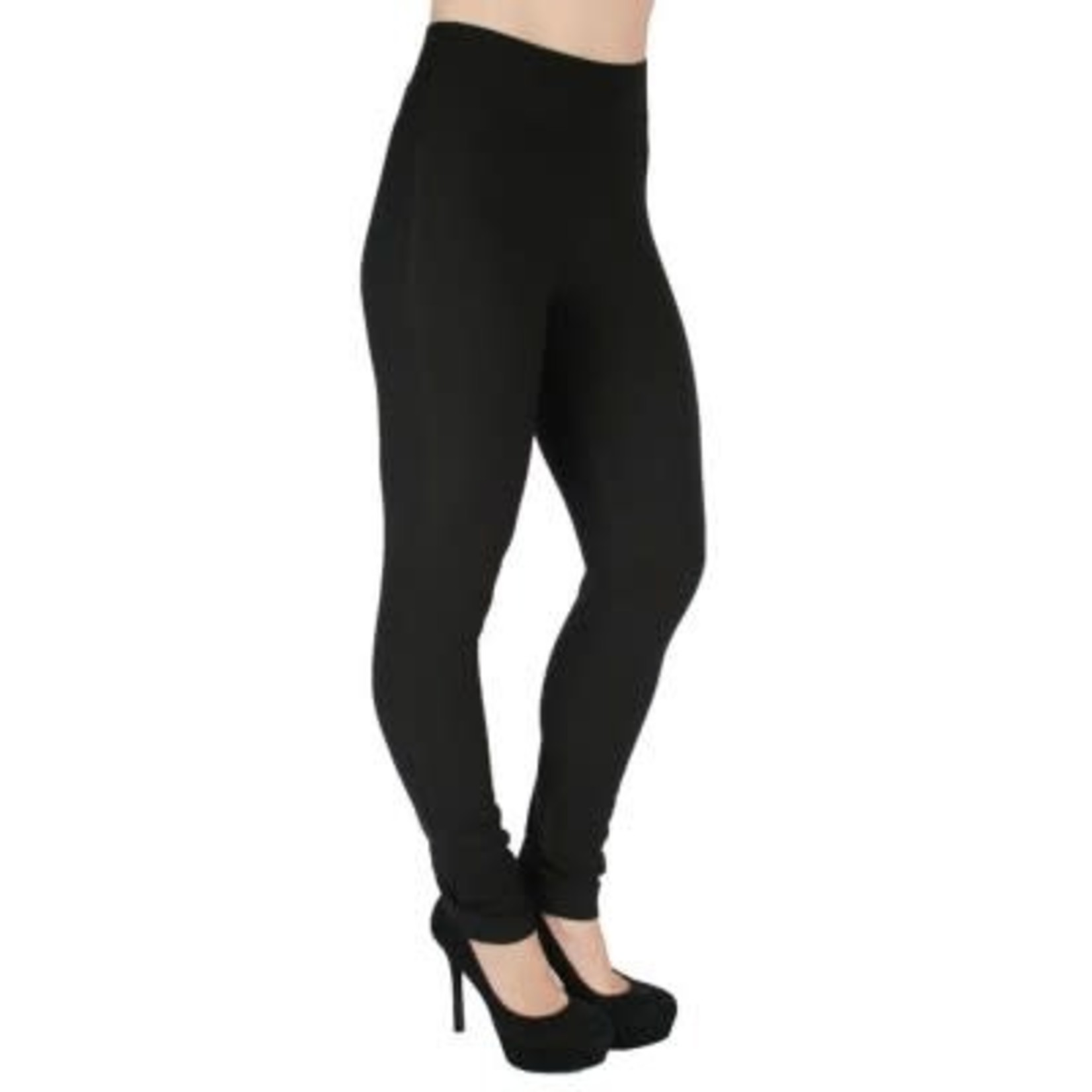 Basic Ponte Legging in Black