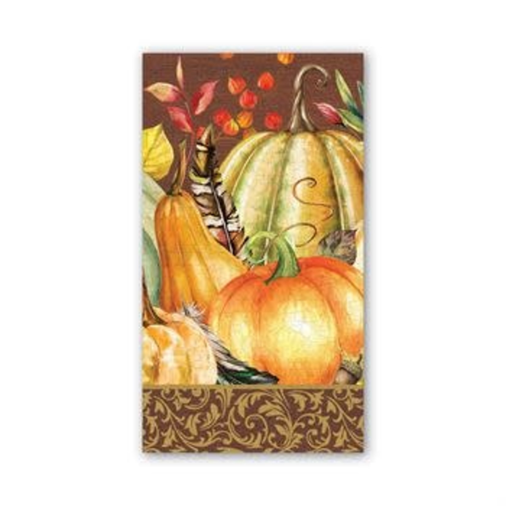 Michel Design Works Sweet Pumpkin Hostess Napkin