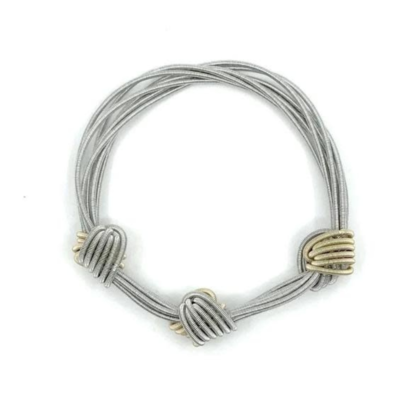 Sea Lily Multi color PW Small Knot Bracelet