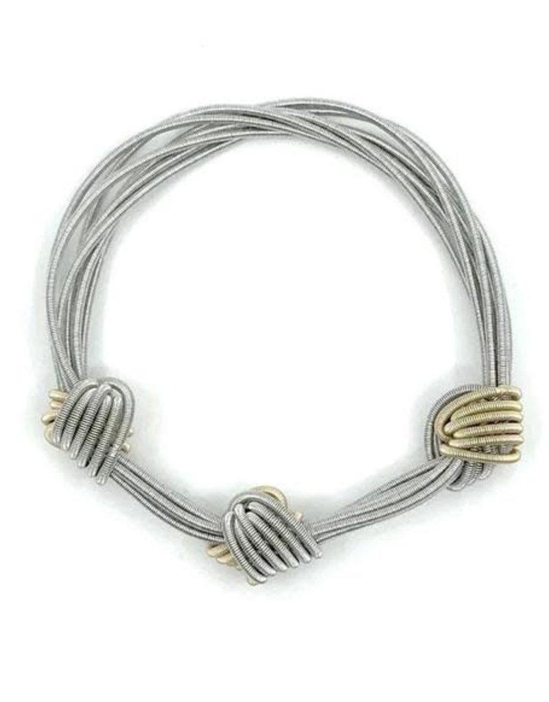 Sea Lily 853 Multi color PW Small Knot Bracelet