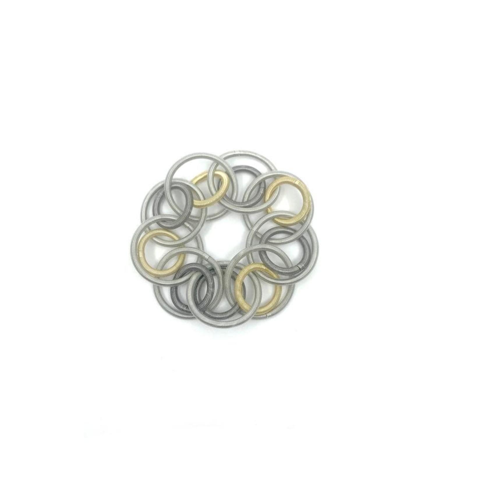 Sea Lily Multi  color Loop Bracelet