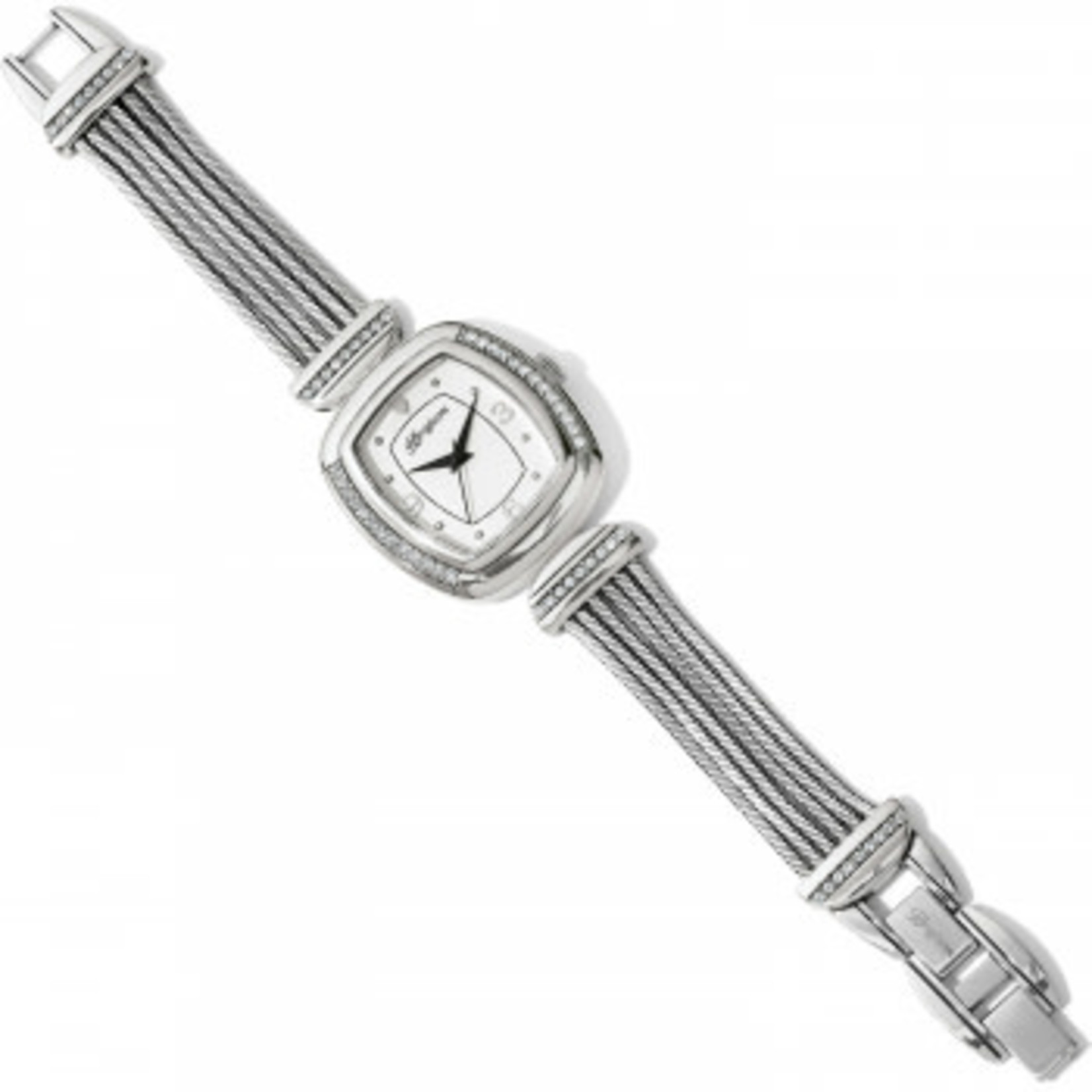 Brighton Watch/Auburn/Silver/MeshWire