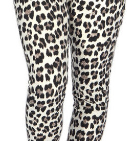 "Catherine Lillywhites Jersey Lounge Around ""Jeans"" in Leopard"
