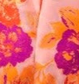 Samuel Dong Floral Orange & Violet Jacket