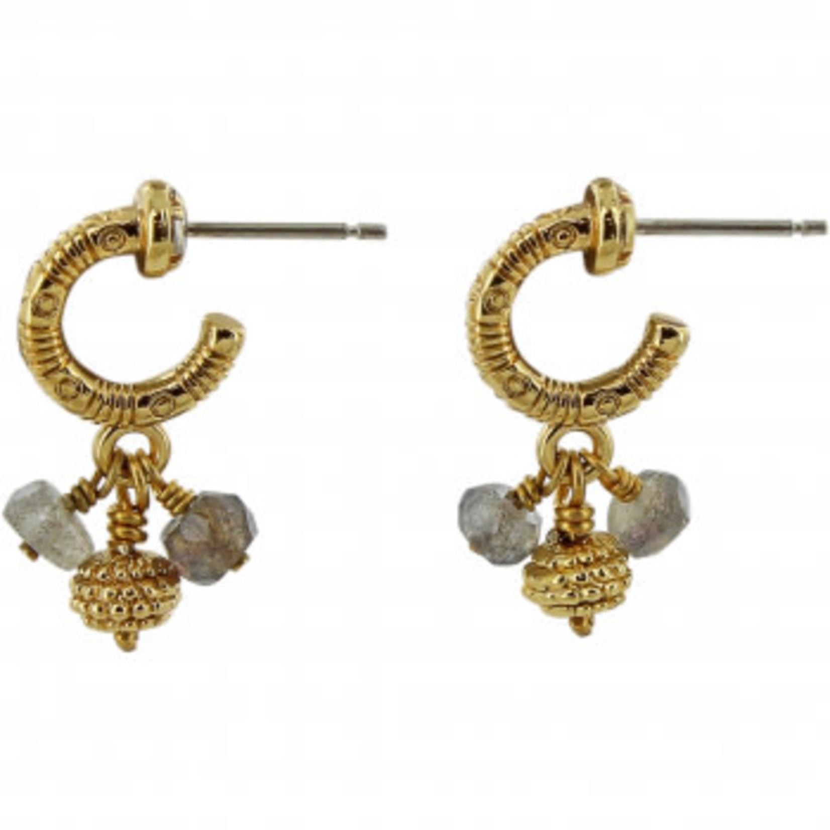 Brighton Gold/Labradorite Play of Light Earrings
