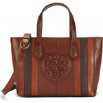 Brighton Tanner Tote in Whiskey