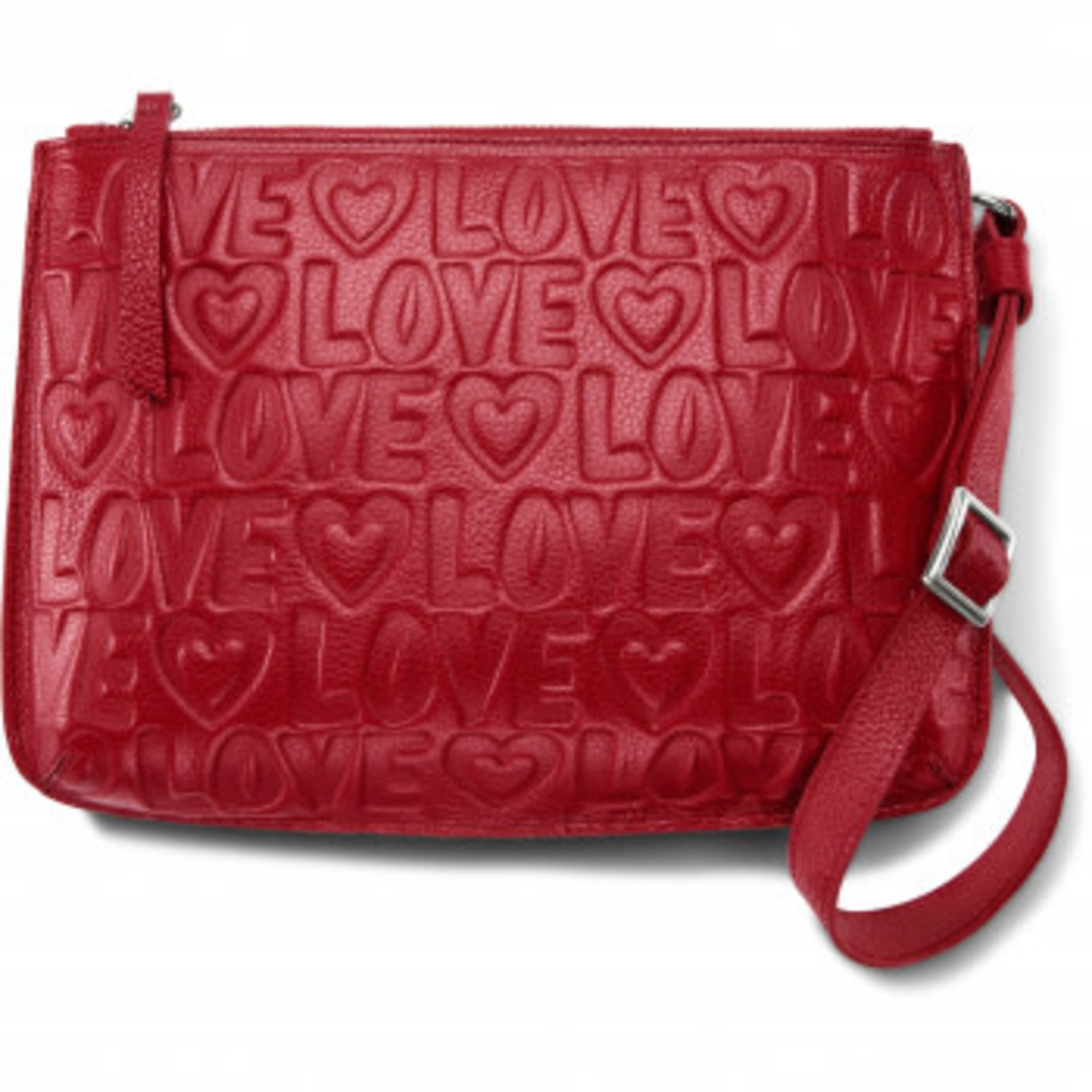 Brighton Deeply In Love Pouch in Lipstick Red
