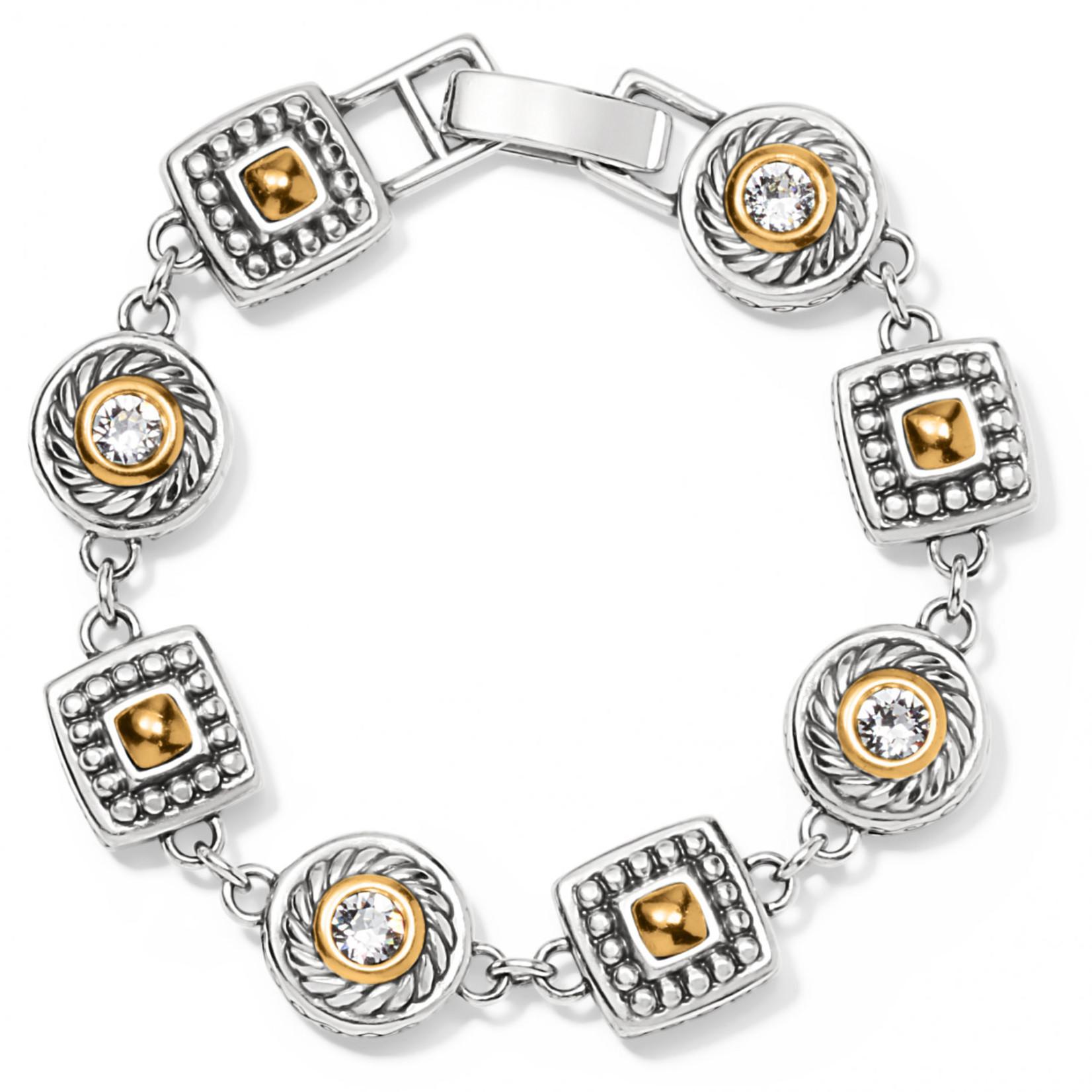 Brighton Heiress Crystal Link Bracelet