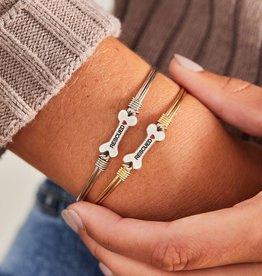 Luca+Danni Animal Rescue Bangle Bracelet Brass Tone - Regular