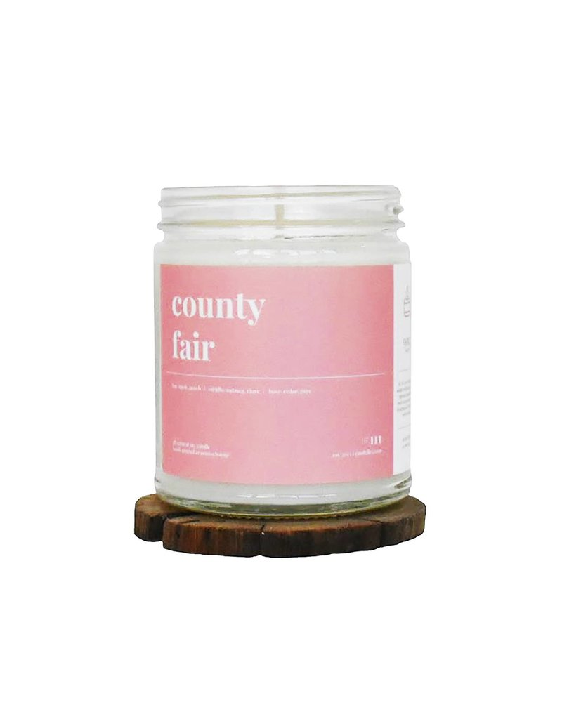 Candelles Scented Soy Candle 9 oz - County Fair