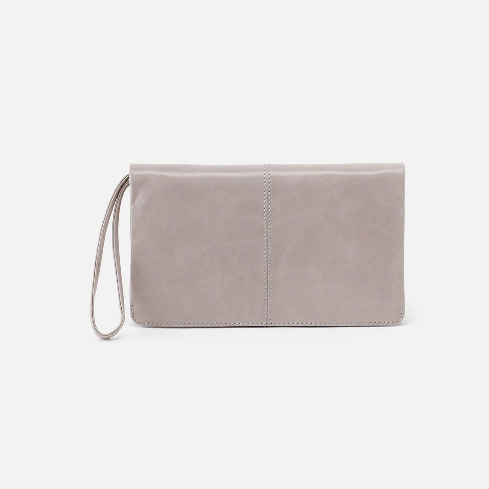 HOBO Evolve Driftwood Vintage Hide Leather Wristlet/Wallet