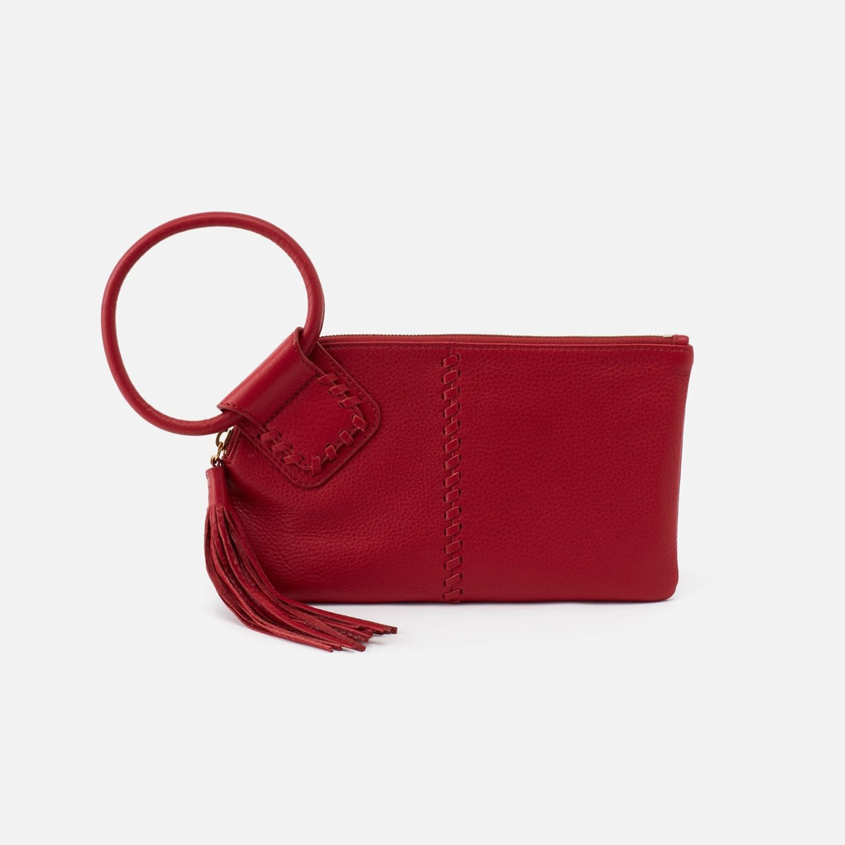 HOBO Sable Scarlet Soft Hide Leather Wristlet w/Loop