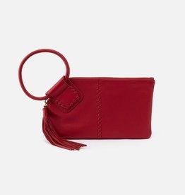 HOBO Sable Scarlet Soft Hide Leather Wristlet w/Loop