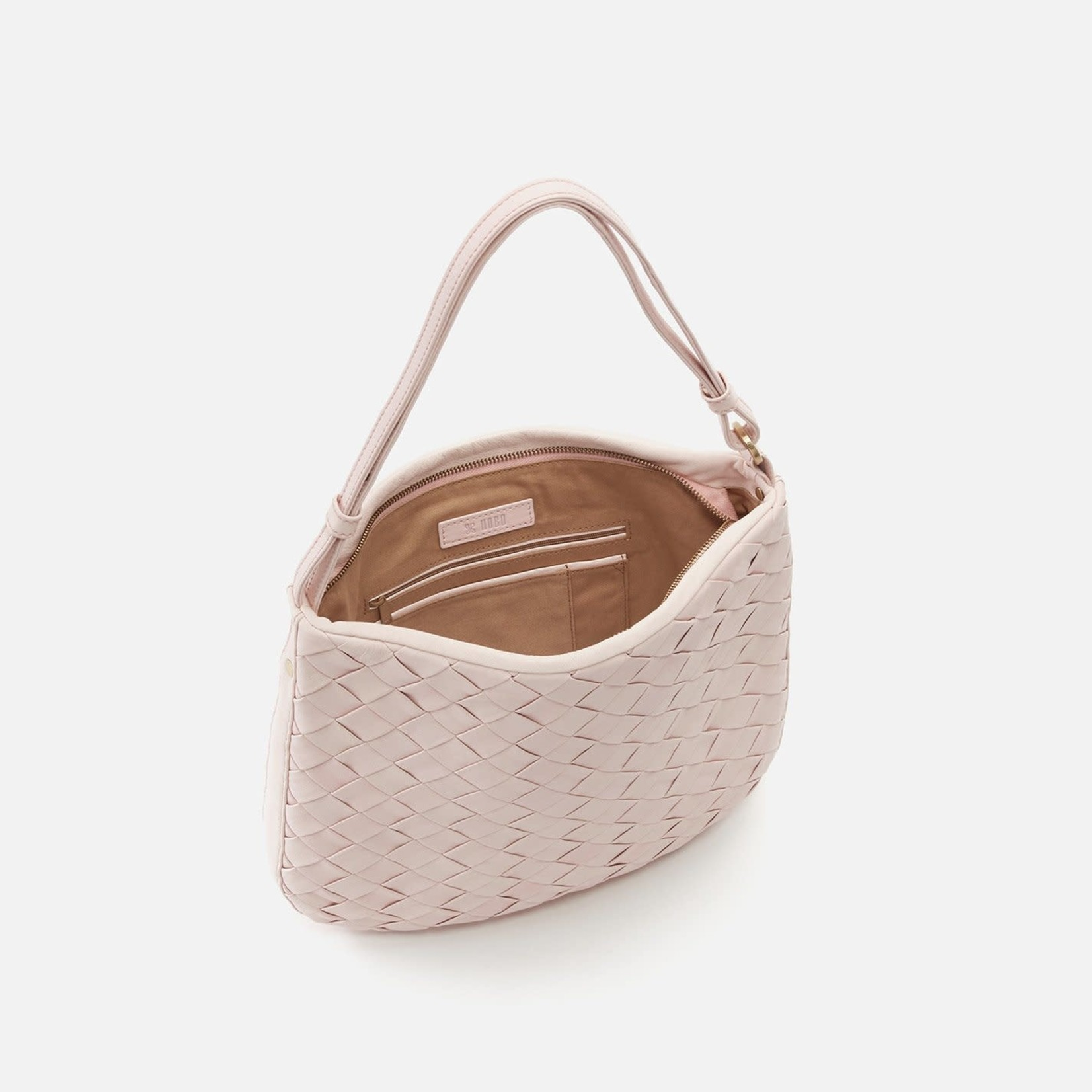 HOBO Merge Pink Soft Hide Leather Handbag