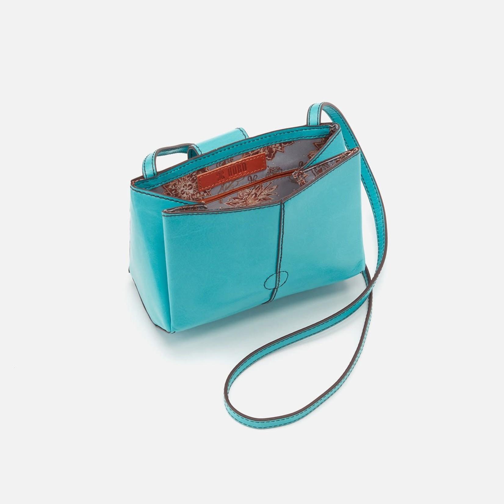 HOBO Elan Aqua Vintage Hide Leather Crossbody