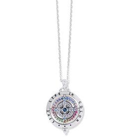 Brighton Color Drops Pendant Necklace