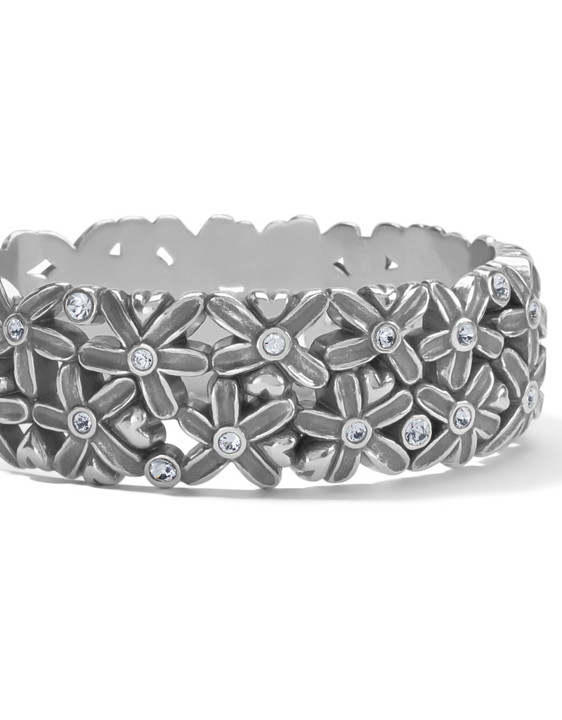 Brighton Wild Flowers Hinged Bangle