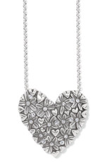 Brighton Wild Flowers Heart Necklace